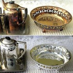 How To Clean Silverware, Cleaning Silverware, Dingy Whites, Home Safes, Natural Cleaning Products, Diy Necklace, Clean House, Cleaning Hacks, Household