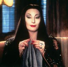 Angelica Huston as Morticia Addams