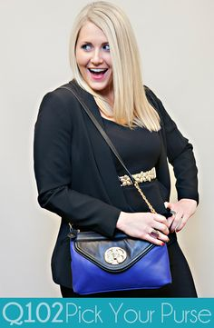 Emma Fox - Shoulder Bag. Go to wkrq.com to find out how to play Q102's Pick Your Purse!