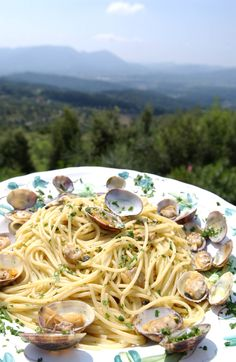 NYT Cooking: Spaghetti With Clams nytimes recipes Clam Recipes, Gnocchi Recipes, Seafood Recipes, Pasta Recipes, Cooking Recipes, Cooking Food, Seafood Dishes, Fish And Seafood, Pasta Dishes