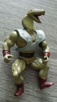 vintage 80's he-man motu ko sewco galaxy fighters kobraa (kobra) snake warrior from $21.99