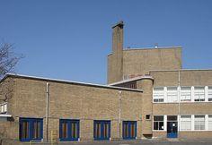 Nassau School Hilversum, by Dudok