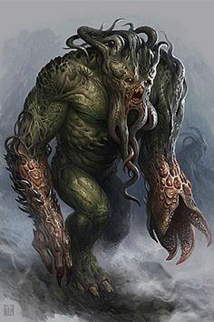 monstruo de mar