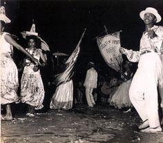 Carnaval no Parque do Ibirapuera  Arquivo Histórico de São Paulo.- Escola de Samba Nenê de Vila Matilde - Homem passista, 1960