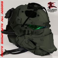 Sky Ronin Assault Helmet - Sky Ronin Sci Fi Studio and Armory for Movies, Airsoft and Paintball