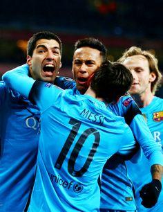Champions League Arsenal vs Barcelona 23/02/2016