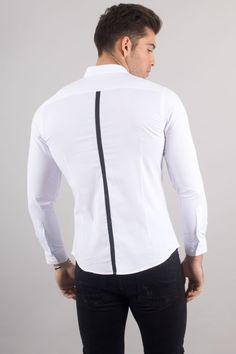 Plain White Shirt, White Shirts, Jeans Kaki, Men Shirt, Mannequin, Shirt Style, Cloths, Bomber Jacket, Shirt Dress