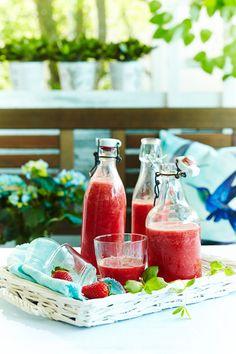 Raikas mansikkajuoma | K-ruoka #kesä