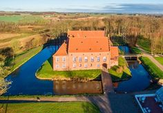 Danish castle Vedbygaard was once owned by Valdemar Atterdag and then union queen Margareta (I). It's now for sale (imagine having 115 million DKK to buy this historical home, which is up for sale right now)