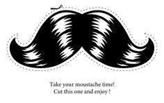 Printables by &Den Concept Moustaches, Beard No Mustache, Craft Gifts, Google Images, Free Images, Diy And Crafts, Eye Candy, Photoshop, Clip Art
