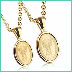 SAINT SURPRISE Custom Design DIVINO NINO JESUS CHILD Gold Pendant Necklace Religious Jewelry Gift for Boy and Girl 1145N/1146N