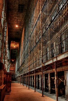 Ohio State Reformatory (AKA Shawshank Prison) I've been here and father in law was locksmith here...