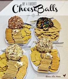 Cheese Balls - 4 really great recipes