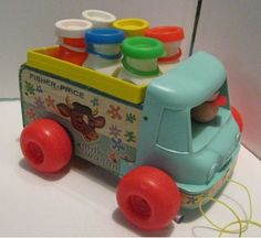 Toy Milk Truck: had it. The driver's head moved or bounced.