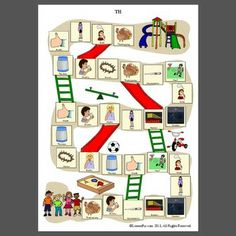 TH gameboard - Pinned by @PediaStaff – Please Visit ht.ly/63sNtfor all our pediatric therapy pins