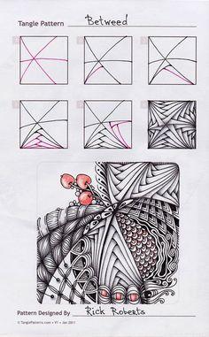 Zentangle. Betweed