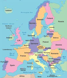 Europe Countries Map Quiz Map Of Europe Labeled Countries Download