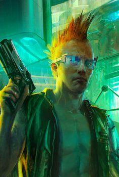 Um jogo da mesma galera que fez o The Witcher, algo bem RPG cyberpunk  humm será que é boum?? rs