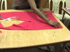 ★ How to make a perfect Churidar Salwar ★bias cutting / Aadaa Pajama ♥ Cloud factory ☁ - YouTube