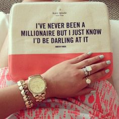 Kate Spade just gets it.