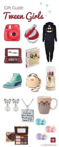cool holiday gift guide for tweens