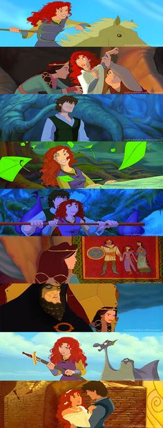 Quest for Camelot AU( is it just me or dose the guy thrid from the bottom look like Drago?)