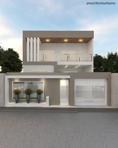 House Outside Design, House Gate Design, Main Door Design, Bungalow House Design, House Front Design, Duplex House, Modern Exterior House Designs, Modern House Facades, Modern Farmhouse Exterior