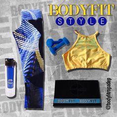 Diseño exclusivo con cortes en malla para brindarte comodidad y seguridad #NewSet #NewCollectionBodyFit #ExerciseYourStyle