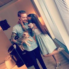 Matty and Brittany Mullins. They're so cute together!