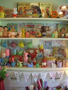 Vintage baby / toddler toys and more collection.