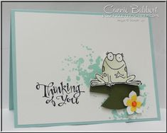 You're Sublime, frog on lily pad, Stampin' Up!, #stampinup, created by Connie Babbert, www.inkspiredtreasures.com