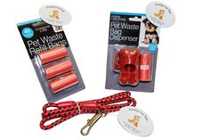 Everlast Pet Toys | Waste Bag Replenishment and Leash Bundle for Dog Walking | Bone Shaped Dispenser w Attachment | Guaranteed | 3 Replacement Rolls | Top Rated - -1 Seller | For All Breeds and Sizes >>> Check out this great product. (This is an affiliate link and I receive a commission for the sales)