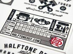 Black-White-Letterpress-Business-Card