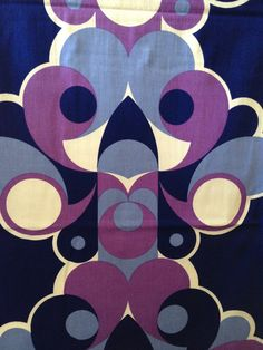 Jewfik fabric, by Arno Thoner for Heals c.1966