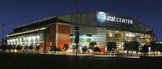 AT&T Center - San Antonio, TX Nba Arenas, Sports Stadium, San Antonio Spurs, Around The Worlds, United States, Mansions, House Styles, Places, Texas