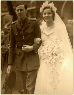 Andrew & Debo [1941] Future Duke and Duchess of Devonshire.