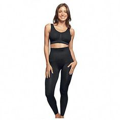 25551051410 The Slim and Tone Legging by Genie™ is the comfort all women wish for! 5  zones of comfortable compression targeting your trouble areas (Entire  mid-section