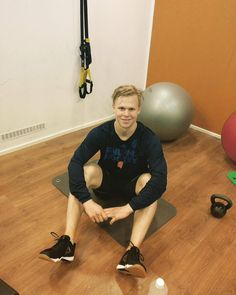 Olli training, getting ready for cup 3