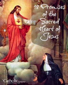 The 12 Promises of the Sacred Heart - A Catholic Company blog post