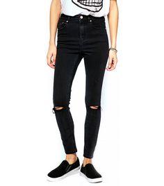 ASOS Ridley Skinny Ankle Grazer Jeans