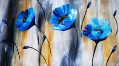 Canvas Painting Tutorials, Acrylic Painting For Beginners, Acrylic Painting Techniques, Diy Canvas Art, Painting Videos, Acrylic Painting Flowers, Acrylic Painting Canvas, Flower Canvas, Ideas