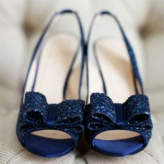 New Year's Engagement Party! Navy, Blue, Silver, White and Black. Sparkly Blue Shoes -- would go well with the bridesmaid dresses (especially with a co-ordinating belt!)
