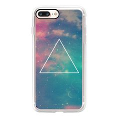 Colorful Cute Girly Turquoise Blue Pink Space Nebula Galaxy Sky Clouds... ($35) ❤ liked on Polyvore featuring accessories, tech accessories, iphone case, pink iphone case, iphone cases, apple iphone case, galaxy iphone case and iphone cover case