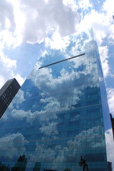 New York Office Tower. It's transparent...