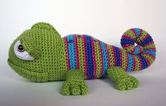 Buy Karen Chameleon amigurumi pattern - Amigurumipatterns.net
