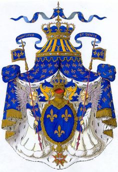 Traditional Royal Arms of France