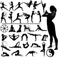 Martial Arts & Yoga... When I started doing Yoga, it took my martial arts skills to a WHOLE 'NOTHER LEVEL! *Should try...