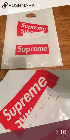 32816c59111 Supreme bag sticker bundle 1 supreme bag
