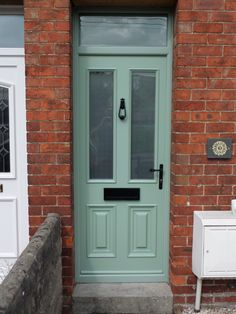 Local and professional company manufacturing and installing of conservatories, windows, doors and double glazing in Wiltshire. Chartwell Green Front Door, Green Front Doors, Composite Door, Palermo, Home Remodeling, Tall Cabinet Storage, Architects, Porch, Home Improvement