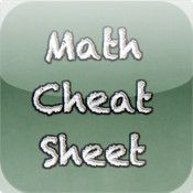 FREE Educational App: The Math Cheat Sheet starting Pinned by Apples and Apps. Always check pricing before purchasing. Math Cheat Sheet, Cheat Sheets, Free Educational Apps, Home Study, College Life, Book Recommendations, Apples, Free Apps, Math Equations